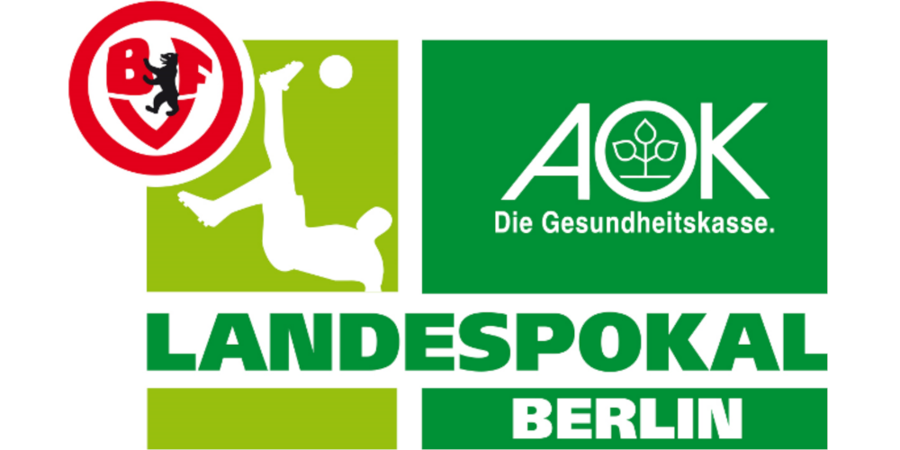 aok landespokal berlin logo